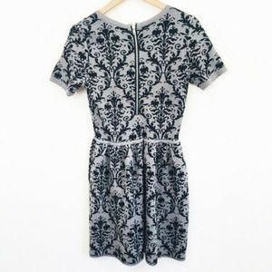 Romeo & Juliet Couture Dresses - Romeo & Juliet Couture Damask Short Sleeve Dress